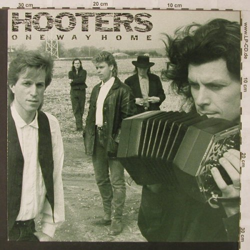 Hooters: One Way Home, CBS(450851 1), NL, 1987 - LP - F469 - 5,50 Euro