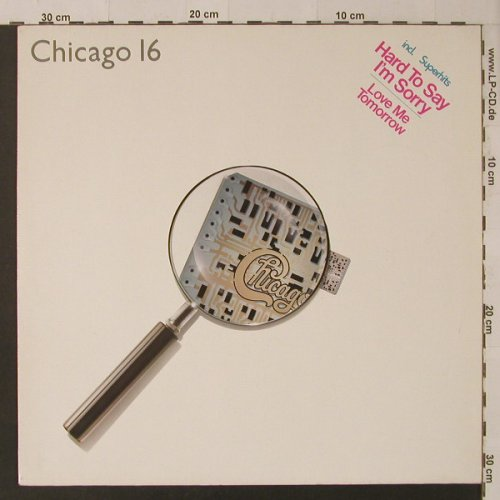 Chicago: 16, Ri, WEA(K 99 235), D, 1982 - LP - F4875 - 5,00 Euro
