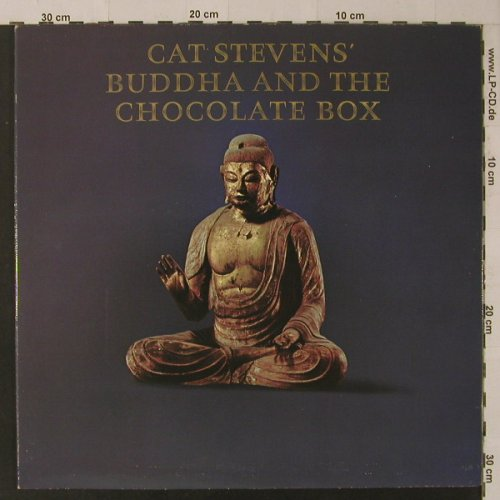 Stevens,Cat: Buddha & The Chocolate Box, Foc, Ri, Island(87 801 XOT), D, 1974 - LP - F4878 - 6,00 Euro