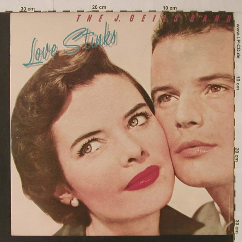 Geils Band,J.: Love Stinks, EMI America(SOO-17016), US, 1980 - LP - F4948 - 6,00 Euro