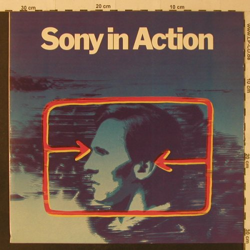 V.A.Sony in Action: Peter Griffin...Promises, EMI(F 667.558), D,  - LP - F5013 - 4,00 Euro