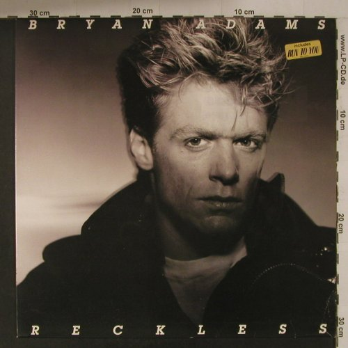 Adams,Bryan: Reckless, AM(395 013-1), NL, 1984 - LP - F5145 - 6,00 Euro