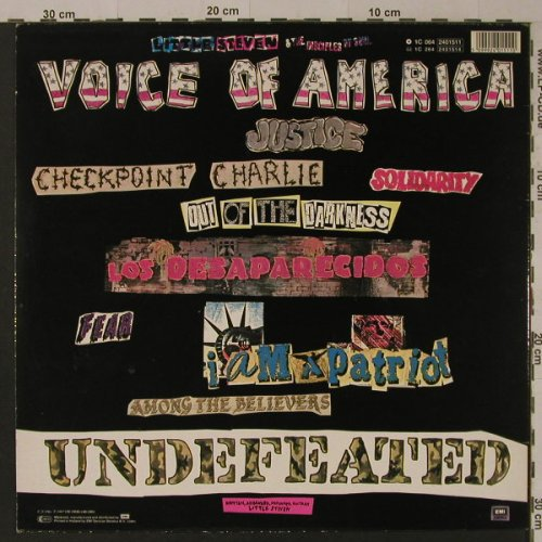 Little Steven: Voice Of America, EMI(2401511), EEC, 1984 - LP - F5202 - 5,50 Euro