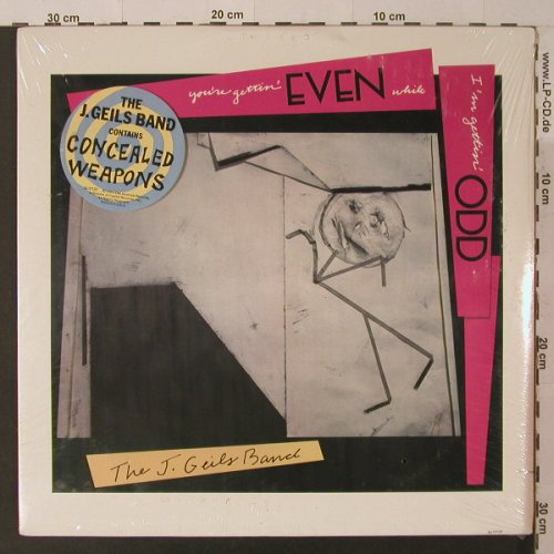 Geils Band,J.: You're Getting Even While I'm Getti, EMI, co(SJ-17137), US,FS-New, 1984 - LP - F5254 - 5,00 Euro