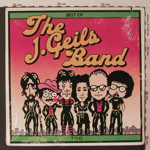 Geils Band,J.: Best Of Two, FS-New, co, Atlantic(SD 19284), US, 1980 - LP - F5255 - 7,50 Euro