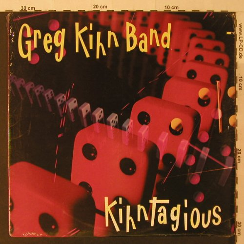 Kihn Band,Greg: Kihntagious, FS-New, co, Beserkley(7 60354-1), US, 1984 - LP - F5263 - 6,00 Euro