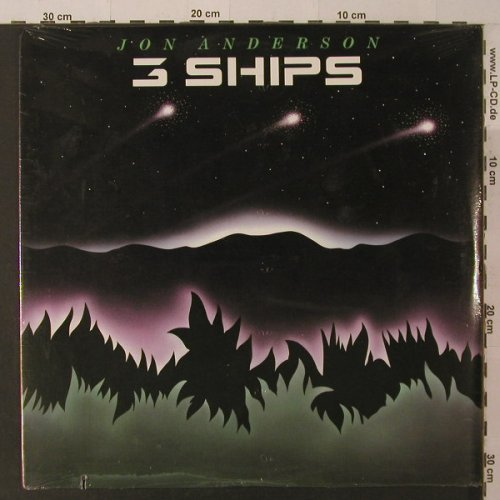 Anderson,Jon: 3 Ships, FS-New, co, Elektra(9 60469-1), US, 1985 - LP - F5264 - 7,50 Euro