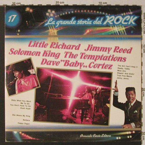 V.A.La Grande Storia Del Rock 17: Little Richard/GladysKnight.., Curcio(GSR-17), I,  - LP - F5429 - 5,00 Euro