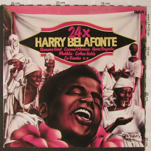 Belafonte,Harry: 24 x , Foc, RCA(26.28056 DP), D, 1975 - 2LP - F546 - 6,00 Euro