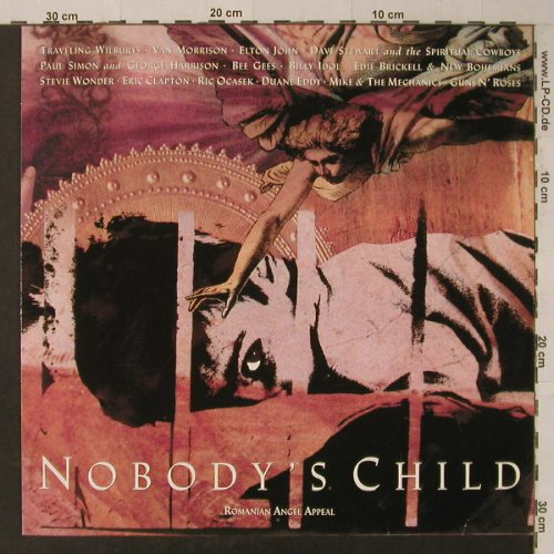 V.A.Nobody's Child: Traveling Willbury...Guns'n Roses, WB(7599-26280-0), D, 14 Tr., 1990 - LP - F5565 - 5,00 Euro