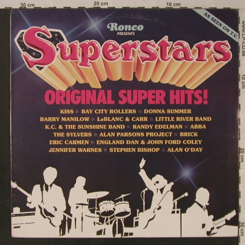 V.A.Superstars: Original Super Hit, Ronco(R 2170), US, 1978 - LP - F5625 - 4,00 Euro