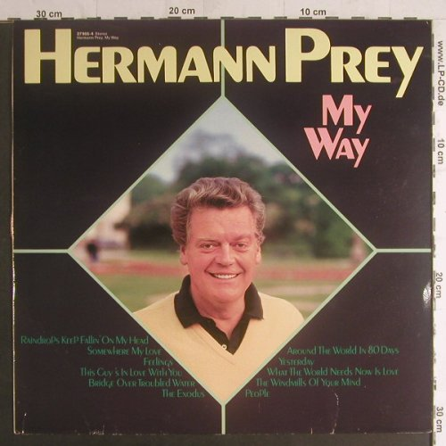 Prey,Hermann: My Way, m-/vg+, Intercord(27 955-4), D, DSC, 1982 - LP - F5862 - 4,00 Euro