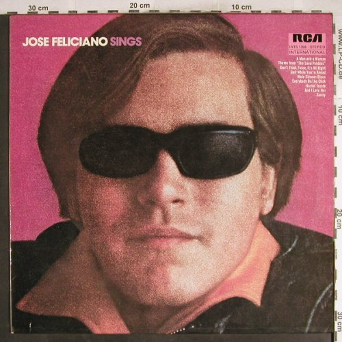 Feliciano,Jose: Sings, RCA International(INTS 1398), D, 1972 - LP - F5969 - 6,00 Euro
