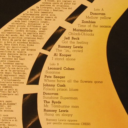 V.A.La Storia Del Rock: L'Era Beat E Il Folk Am.Vol.2,12 Tr, CBS(SPR 102), I, 1975 - LP - F59 - 4,00 Euro