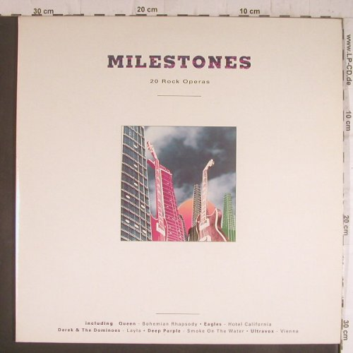 V.A.Milestone: 20 Rock Operas, Foc, Telstar(STAR 2379), UK, 1990 - 2LP - F6408 - 7,50 Euro