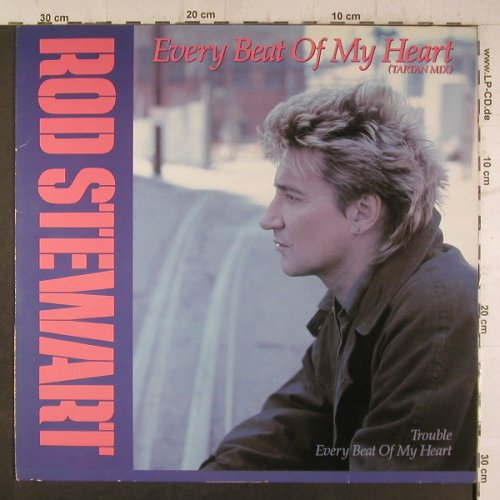 Stewart,Rod: Every Beat Of My Heart(Tartan Mix), WB(920 511-0), D, 1986 - 12inch - F6766 - 4,00 Euro