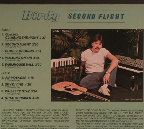 Birdy: Second Flight - Eddy F.Müller, SelectedS.(132), D, 1982 - LP - F6834 - 4,00 Euro