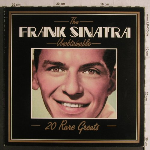 Sinatra,Frank: The Unobtainable, 20 Rare Greatest, Deja Vu(DVLP 2071), I, Ri, 1987 - LP - F6926 - 5,00 Euro