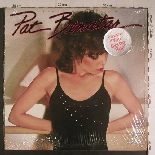 Benatar,Pat: Crimes Of Passion, Chrysalis(CHE 1275), CDN, 1980 - LP - F6954 - 5,00 Euro