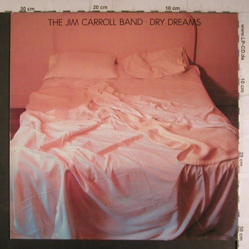 Carroll Band,Jim: Dry Dreams, CBS(85614), NL, 1982 - LP - F6956 - 5,50 Euro