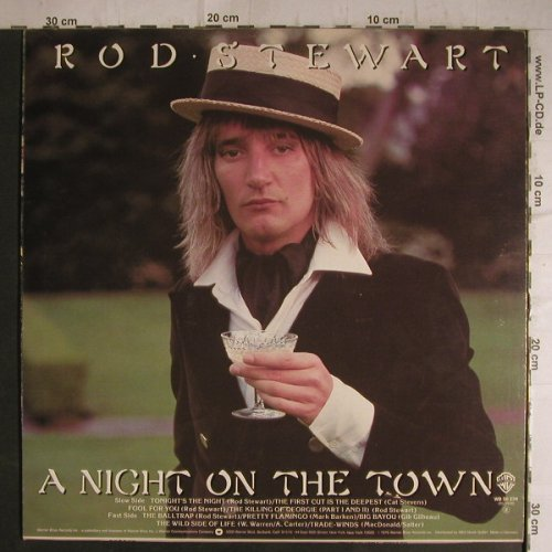 Stewart,Rod: A Night On The Town, WB(56 234), D, 1976 - LP - F7170 - 4,00 Euro