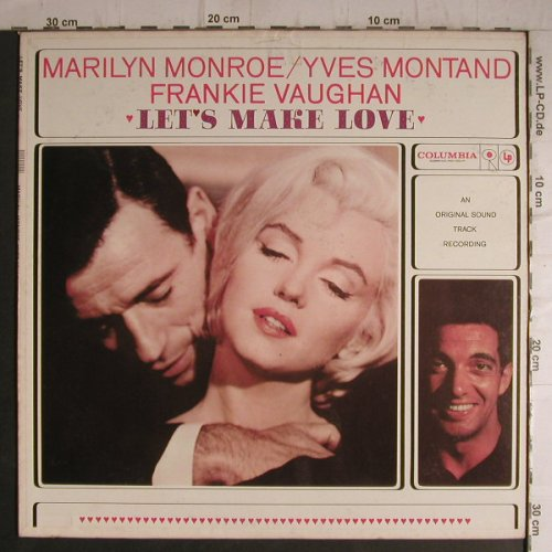 Monroe,Marilyn/Y.Montand/Fr.Vaughan: Let's Make Love,Soundtr.rec., Columbia(CL 1527), US,  - LP - F7265 - 20,00 Euro