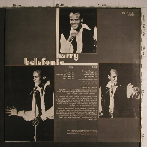 Belafonte,Harry: Same, RCA International(INTS 1430), D, 1973 - LP - F7310 - 4,00 Euro