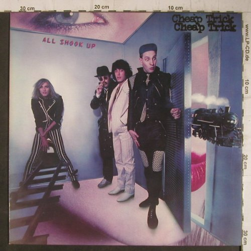 Cheap Trick: All Shook Up, CBS(EPC 84345), NL, 1980 - LP - F7501 - 5,50 Euro
