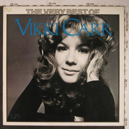 Carr,Vikki: The Very Best Of, UA(UAS 29 753 XO), D, 1975 - LP - F7511 - 6,50 Euro