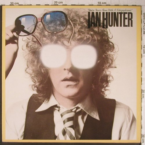 Hunter,Ian: You're Never Alone W.A Schizophren, Chrysalis(202 653-270), D, 1979 - LP - F7531 - 6,00 Euro