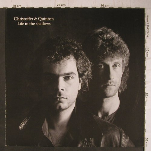 Christoffer & Quinton: Life In The Shadows, Da Music(RTL 1027.), D, 1989 - LP - F7687 - 7,50 Euro