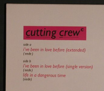 Cutting Crew: I've Been In Life Before*2+1, co, Virgin(608 628-213), D, 1986 - 12inch - F7748 - 2,50 Euro