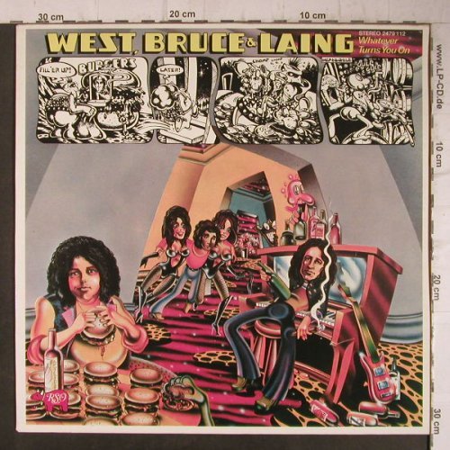 West,Bruce & Laing: Whatever Turns You On,  Only Cover, RSO(2479 112), D, 1973 - Cover - F7768 - 4,00 Euro