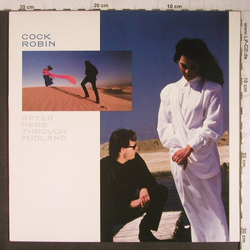 Cock Robin: After Here Through Midland, CBS(450 890 1), NL, 1987 - LP - F7897 - 6,00 Euro