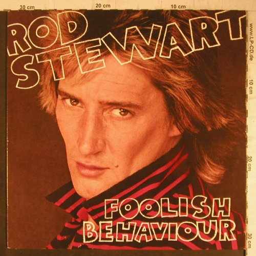 Stewart,Rod: Foolish Behaviour, Foc, Poster, WEA(HS 3485), US, 1980 - LP - F7912 - 7,50 Euro