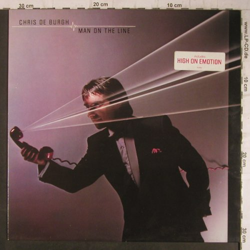 De Burgh,Chris: Man On The Line, AM(LX 65002), NL, 1984 - LP - F7960 - 5,00 Euro