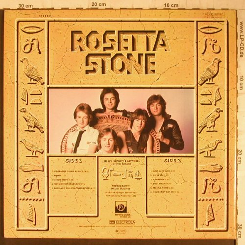 Rosetta Stone: Rock Pictures,Foc, Private Stock(PVLP 1031), UK, 1978 - LP - F7980 - 6,00 Euro