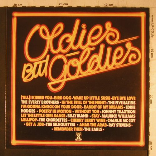 V.A.Oldies but Goldies: Everly Brothers..Eddie Hodges,16Tr., Janus(6.23406 AF), D,vg+/m-, 1978 - LP - F8192 - 4,00 Euro