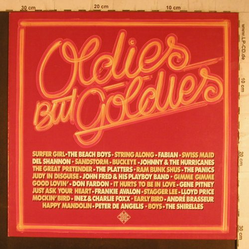 V.A.Oldies but Goldies: Lloyd Price...Fabian, 16 Tr., Telefunken(6.23411 AF), D, 1978 - LP - F8194 - 5,00 Euro