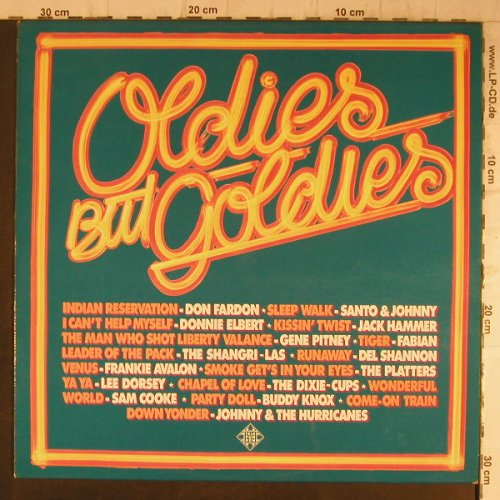V.A.Oldies but Goldies: Johnny&Hurricanes, Fabian,B.Knox.., Telefunken(6.23410 AF), D, 16 Tr.,  - LP - F8195 - 5,00 Euro