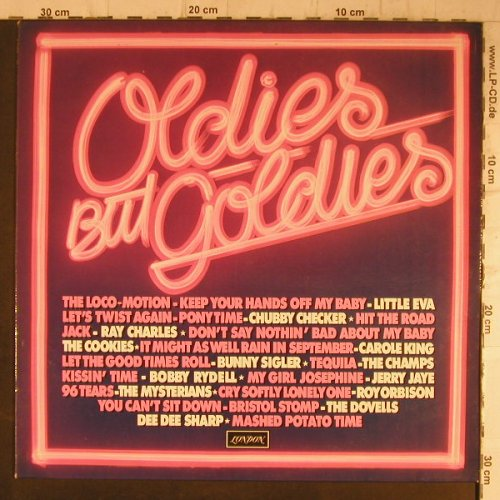 V.A.Oldies but Goldies: Chubby Checker...Jerry Jaye, London(6.23409 AF), D, 1978 - LP - F8196 - 5,00 Euro