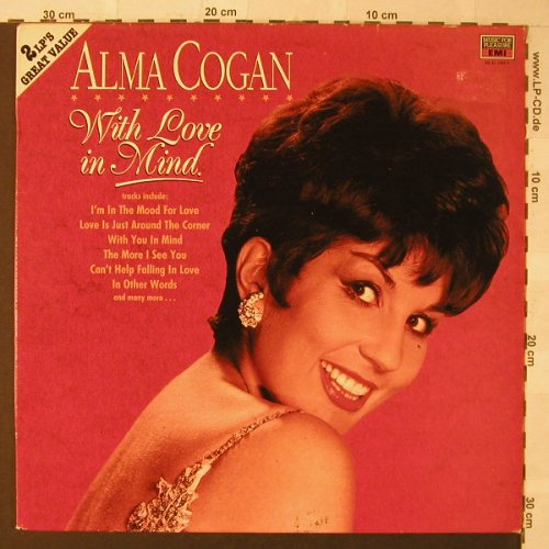 Cogan,Alma: With Love In Mind, MFP/EMI(DL 41 1084 3), UK, 1986 - 2LP - F825 - 6,50 Euro