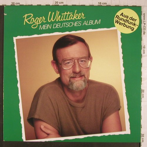 Whittaker,Roger: Mein Deutsches Album, Aves(INT 161.508), D, co, 1977 - LP - F8320 - 5,00 Euro