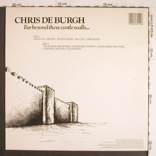 De Burgh,Chris: Far Beyond These Castle Walls.., Hallmark(SHM 3151), UK Ri, 1984 - LP - F8477 - 4,00 Euro