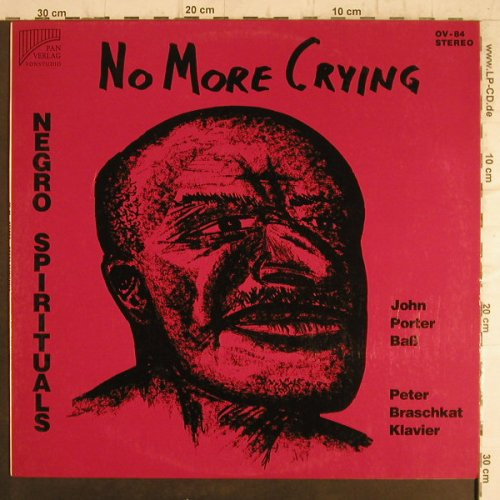 Porter,John/Peter Braschkat,Klavier: No More Crying, Pan Verlag(OV-84), D, 1978 - LP - F8542 - 6,00 Euro