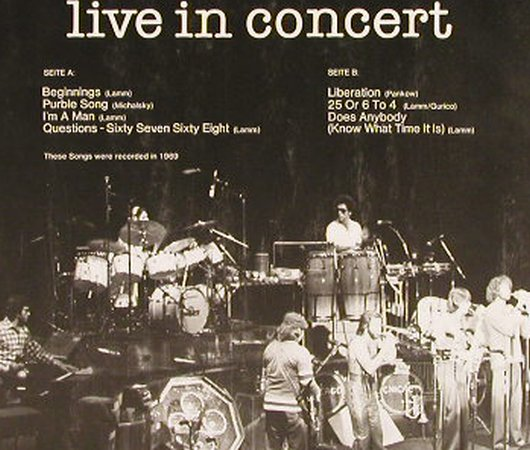 Chicago: Live In Concert(69), Ri, Club-Ed., Capriole(32 103-4), D, m-/vg+,  - LP - F8665 - 4,00 Euro