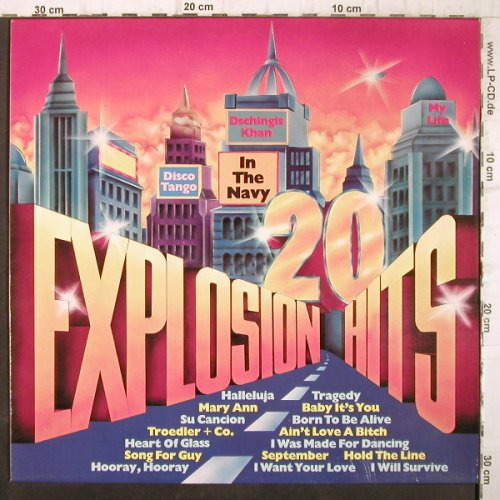 V.A.20 Explosion Hits: The Top Twenty, Cover-Version, Silverline(SLR 5.004), D,  - LP - F9034 - 4,00 Euro