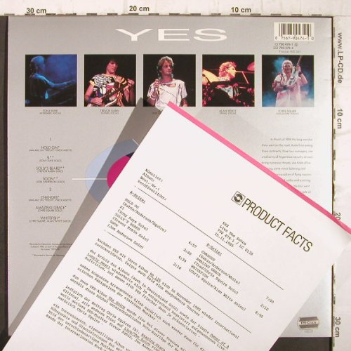 Yes: 9012 Live-The Solos, Facts, Atco(790 474-1), D, 1985 - LP - F9044 - 7,50 Euro