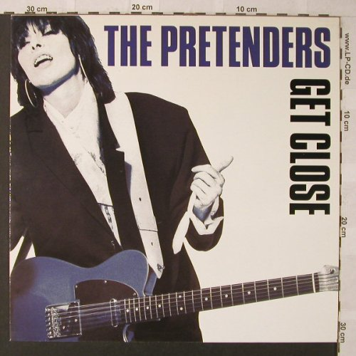 Pretenders: Get Close, WEA(240 976-1), D, 1986 - LP - F907 - 3,00 Euro