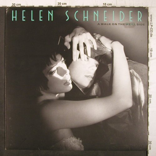 Schneider,Helen: A Walk On The Weill Side, vg+/vg+, Epic(465799 1), NL, 1989 - LP - F9124 - 5,00 Euro